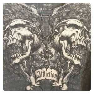 Men's Affliction shirt Sz M